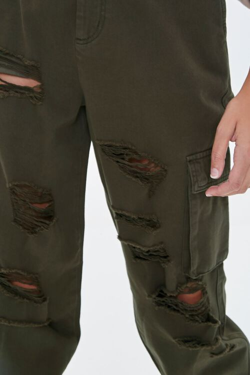 Distressed Cargo Joggers, image 5