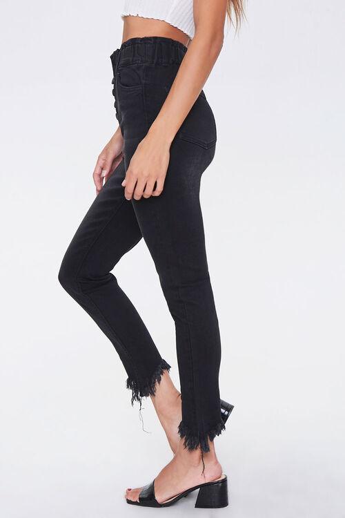 Frayed Ankle Skinny Jeans, image 3