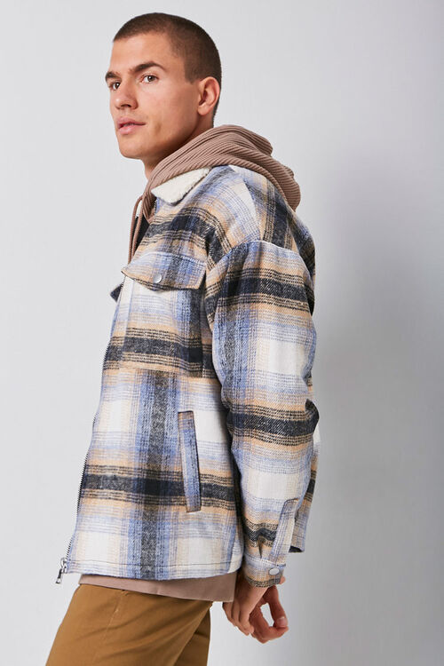 Plaid Zip-Up Jacket, image 2