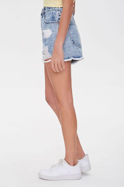 Acid Wash Denim Shorts, image 3