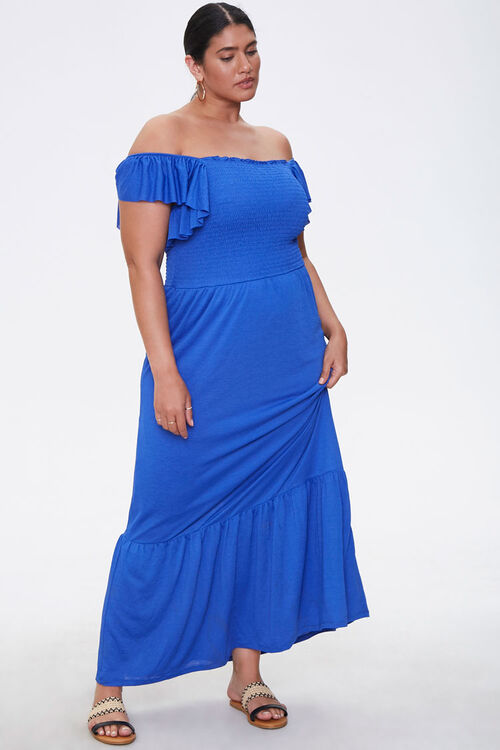 Plus Size Off-the-Shoulder Dress, image 4
