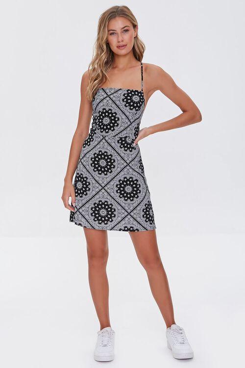 Ornate Print Mini Dress, image 4