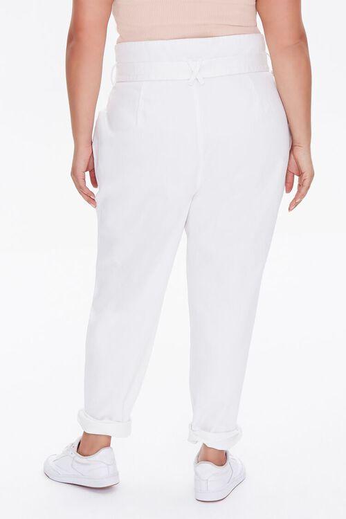 Plus Size Paperbag Jeans, image 4