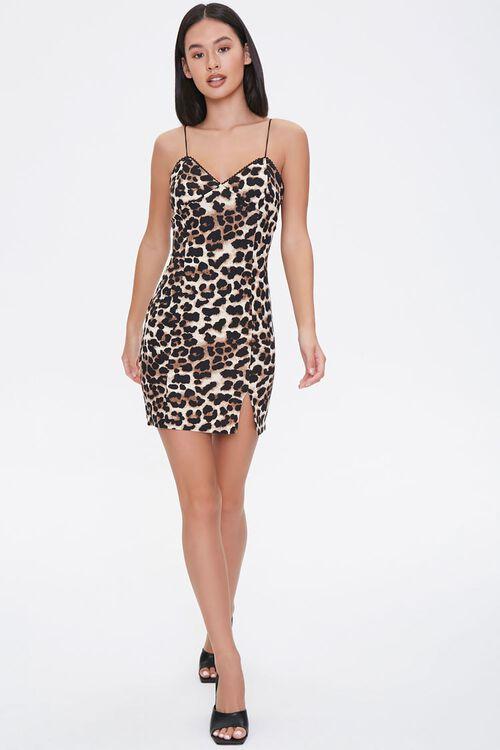 Leopard Print Bodycon Dress, image 4