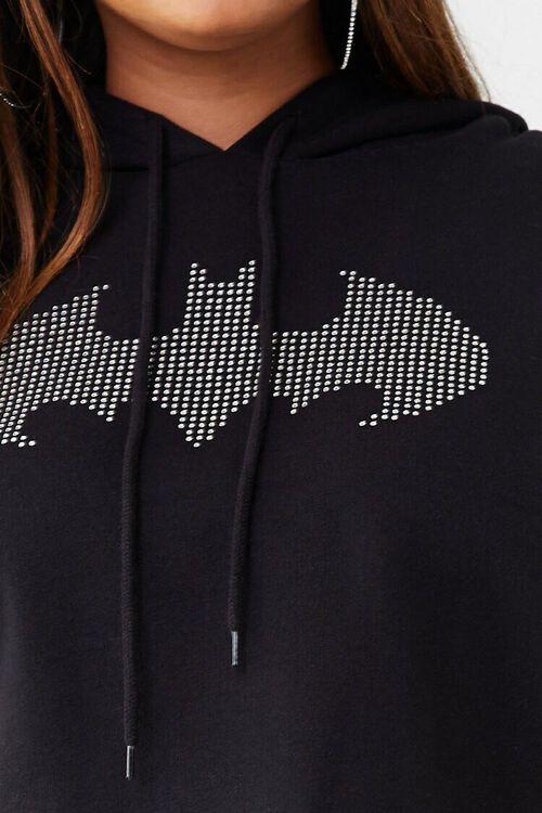 Plus Size Batman Graphic Hoodie, image 5