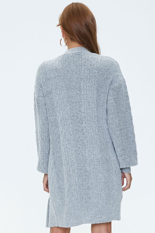 Cable Knit Cardigan Sweater, image 3