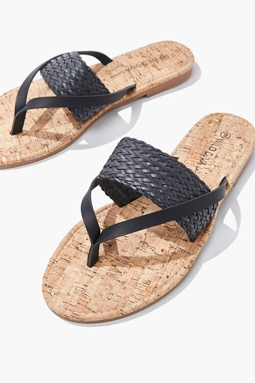 Braided Thong Sandals, image 3