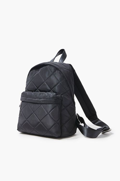 Quilted Zip-Up Backpack, image 2