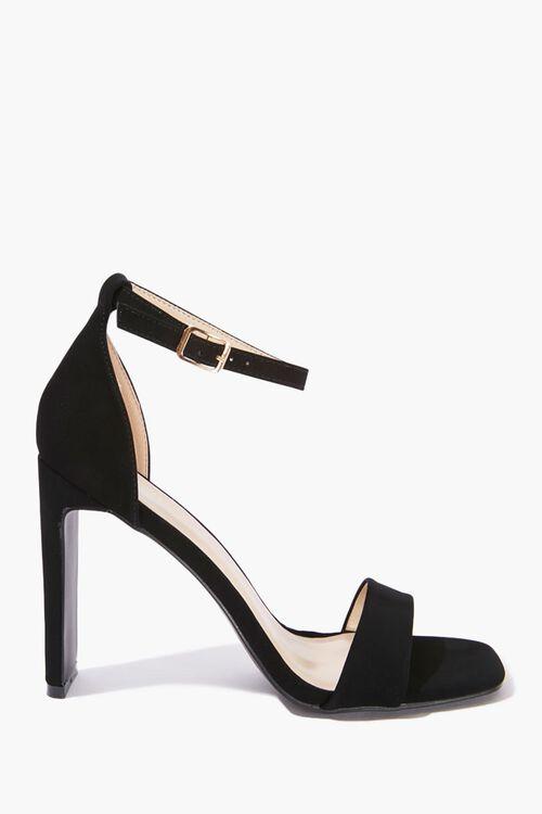 Faux Suede High Heels, image 1