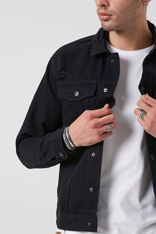 Distressed Denim Jacket, image 5