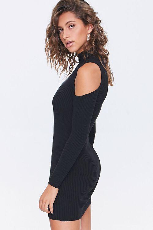 Open-Shoulder Sweater Dress, image 2