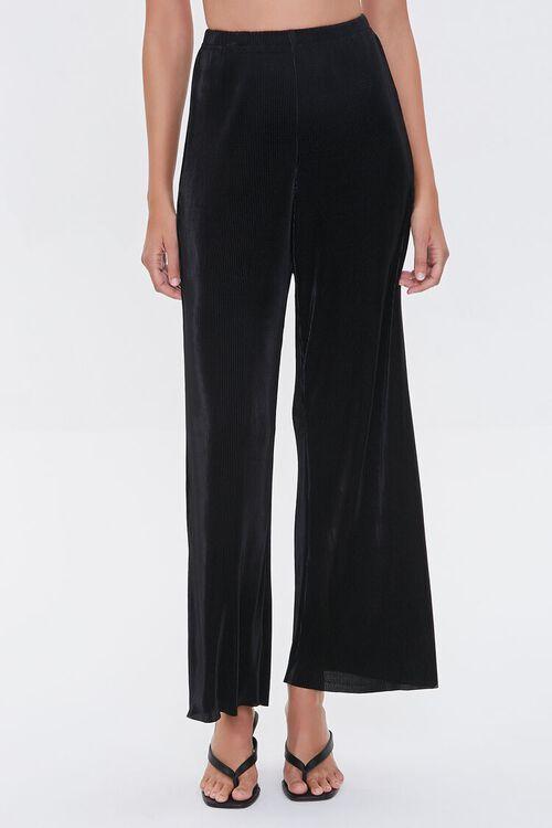 Pleated Wide-Leg Pants, image 2