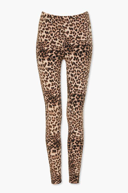 Leopard Print Leggings, image 1