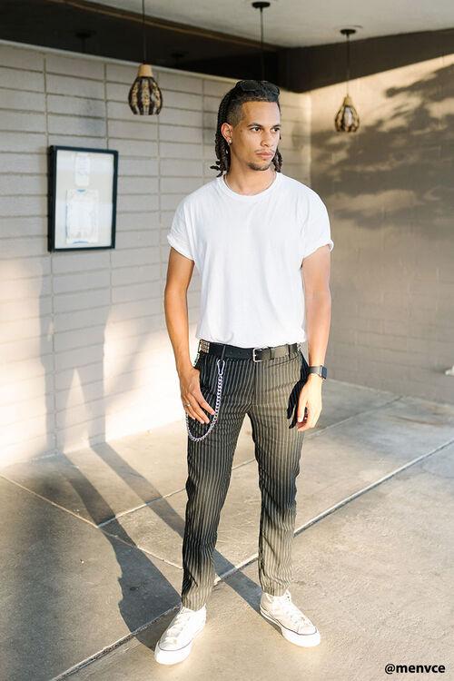 Slim-Fit Cropped Pants, image 1