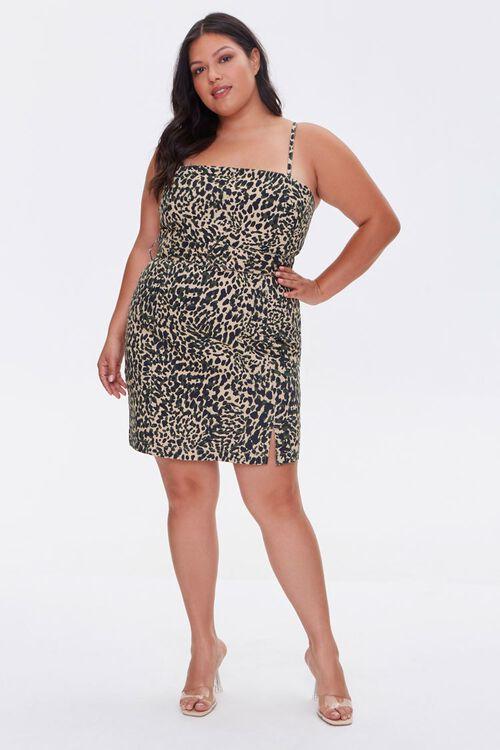 Plus Size Cheetah Print Dress, image 4