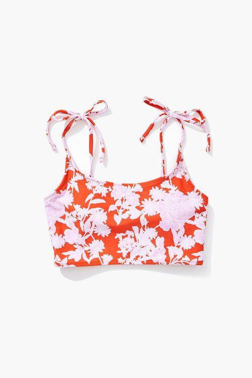 Floral Bralette Bikini Top, image 5