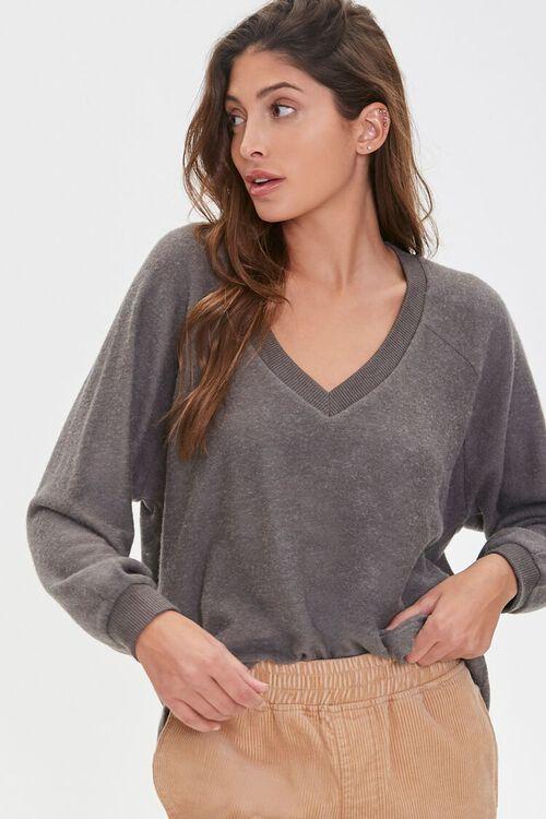 Raglan Balloon-Sleeve Sweater, image 1