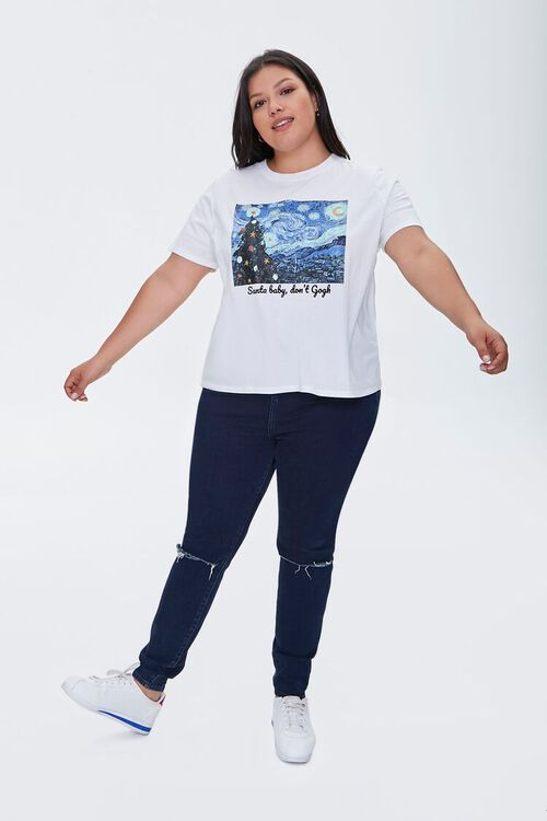 Plus Size Organic Cotton Dont Gogh Tee, image 4