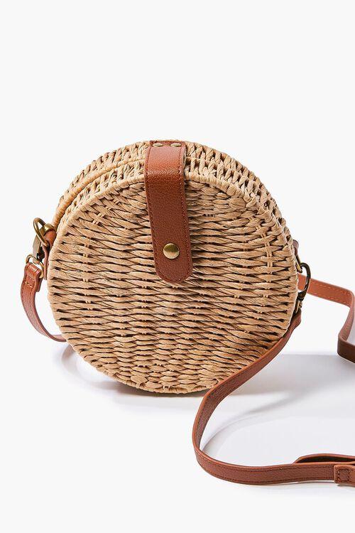 Basket-Woven Crossbody Bag, image 5