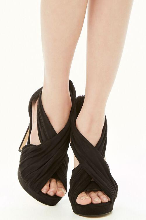 Shoe Republic Pleat Strap Stiletto Heels, image 2