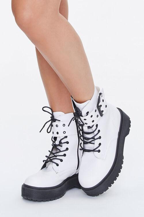 Buckled Platform Boots, image 1