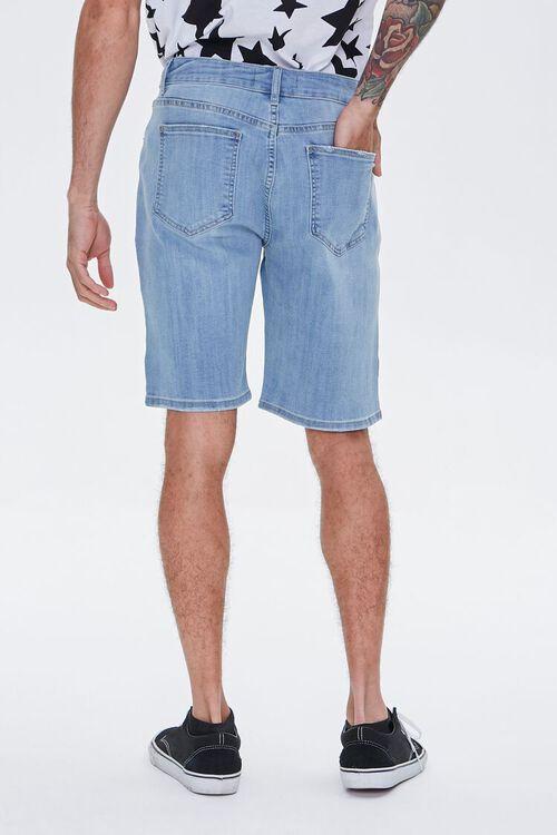 Paneled Denim Shorts, image 4