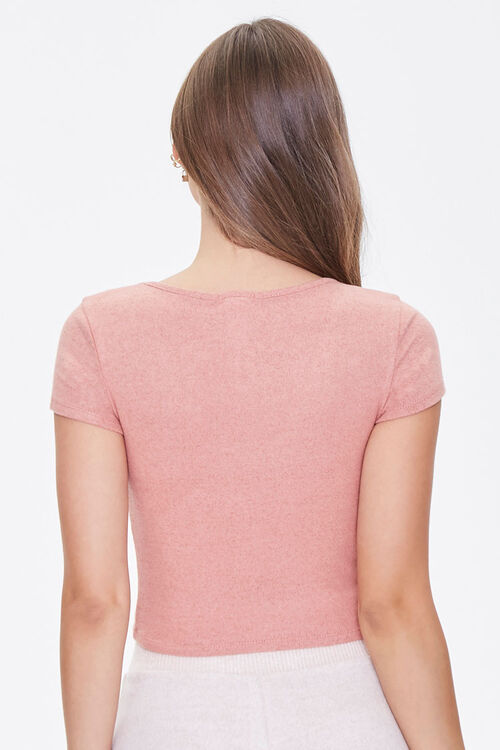 Ruched Lounge Tee, image 3