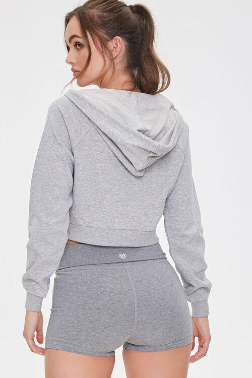 Active Cropped Zip-Up Hoodie, image 3