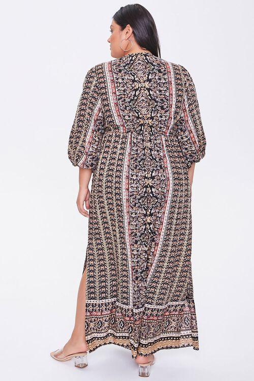 Plus Size Ornate Maxi Dress, image 3