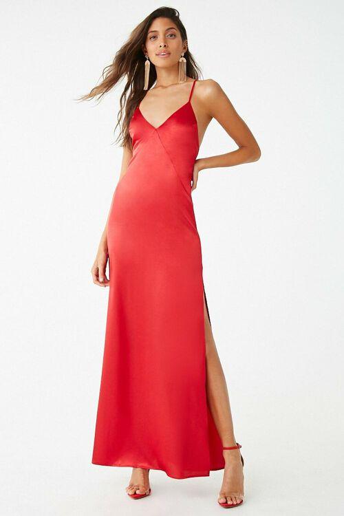 Satin Cami Dress, image 2