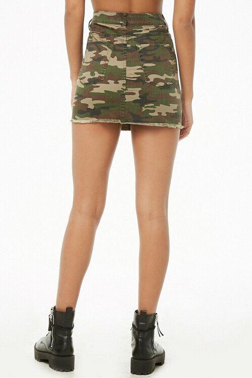 Camo Mini Skirt, image 4