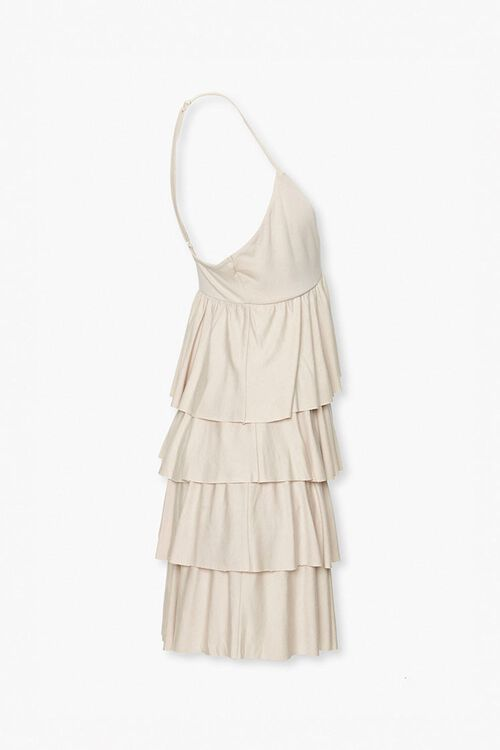 Tiered Flounce Mini Dress, image 2