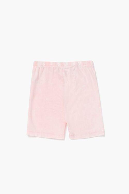 Girls Marled Biker Shorts (Kids), image 2