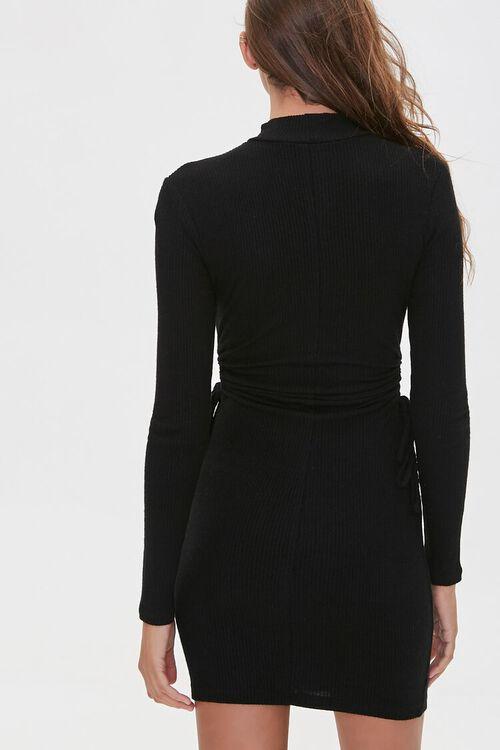 Ribbed Cutout Mini Dress, image 3