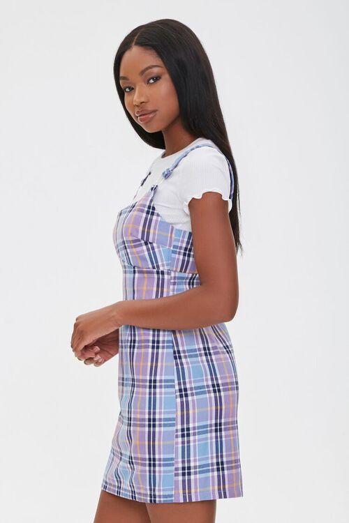 Plaid Pinafore Dress, image 2