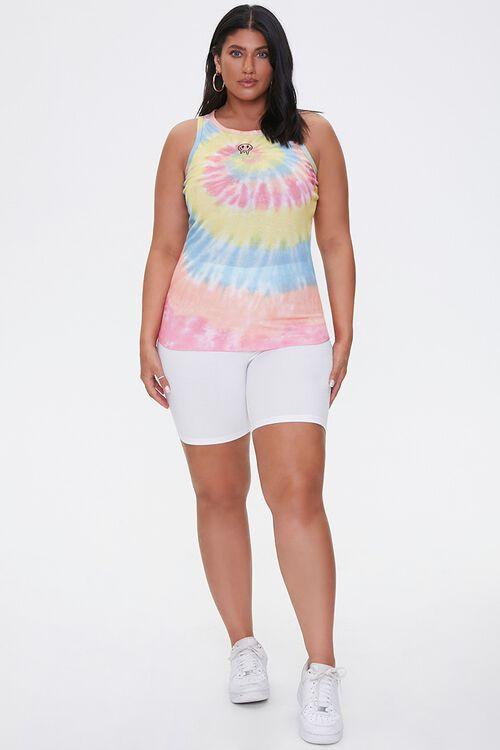 Plus Size Tie-Dye Tank Top, image 4