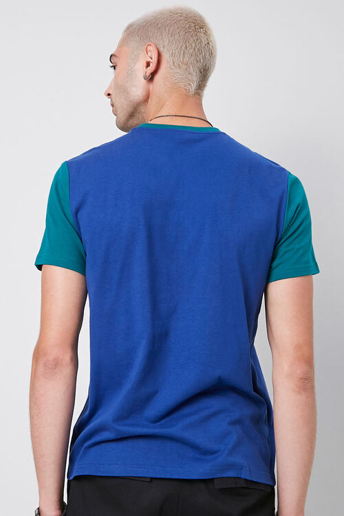 Colorblocked Cotton Tee, image 3
