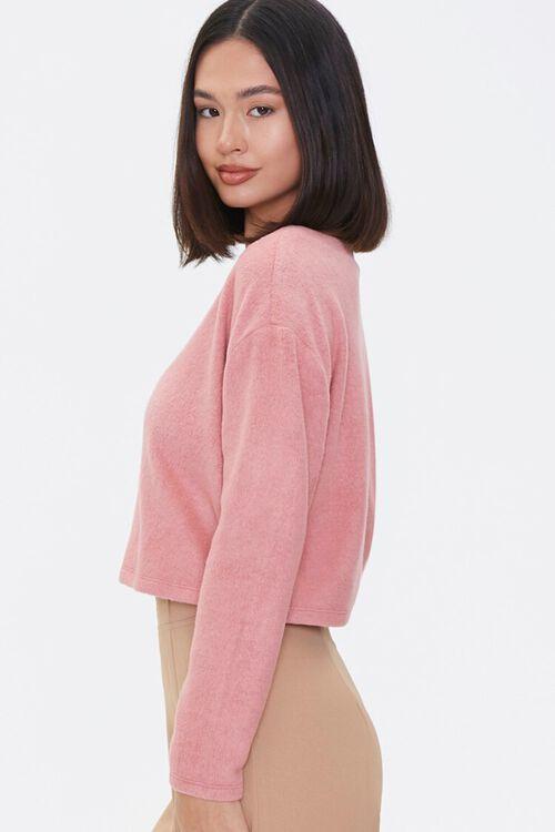 ROSE Boxy Cardigan Sweater, image 2