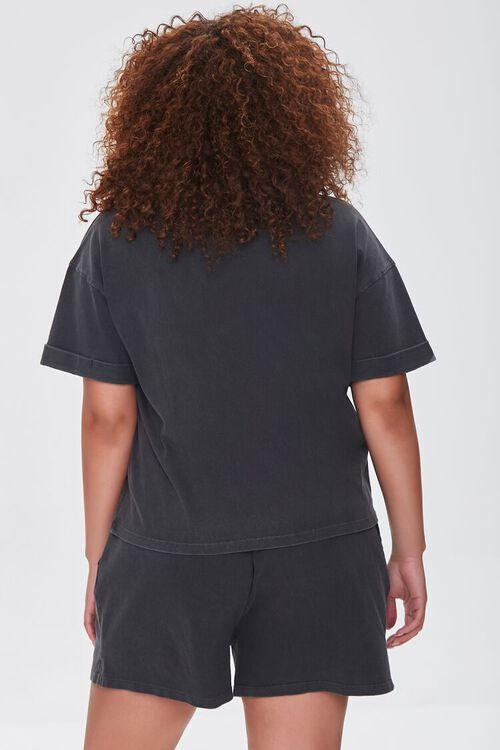 Plus Size California Tee & Shorts Set, image 3