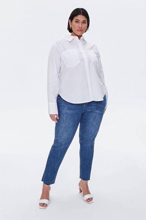 Plus Size Button-Up Shirt, image 4