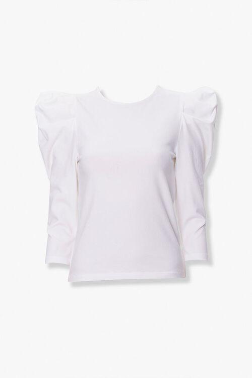 Long-Sleeve Gigot Top, image 1