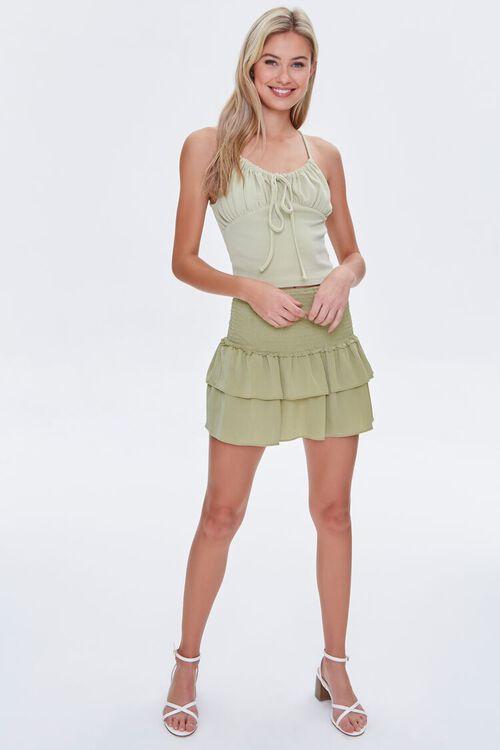 Tiered Flounce Mini Skirt, image 5
