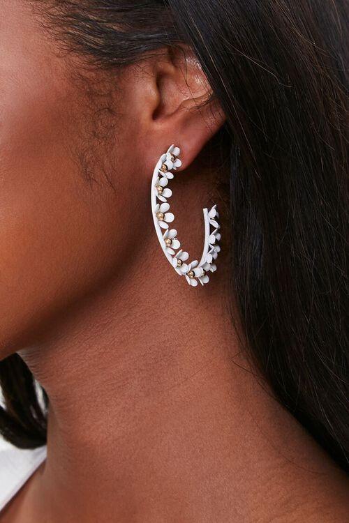 Daisy Hoop Earrings, image 2