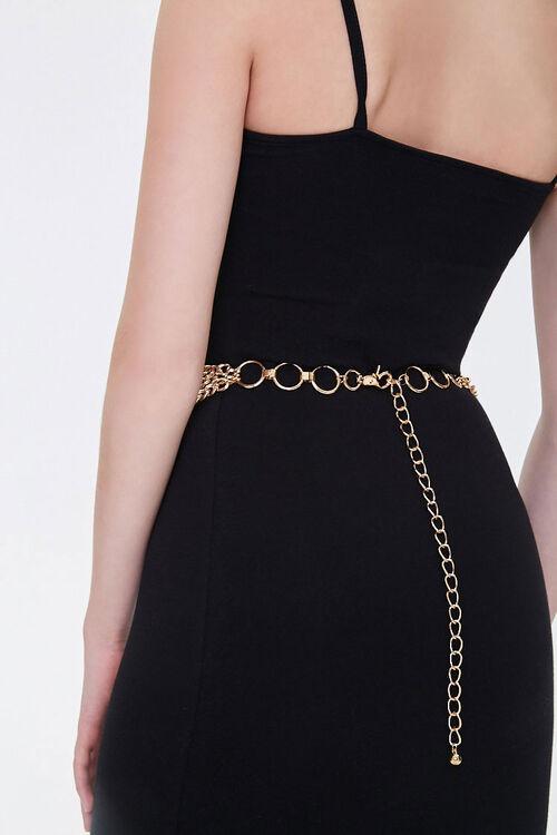 Curb Chain Layered Waist Belt, image 3