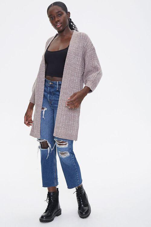 Ribbed Cardigan Sweater, image 4