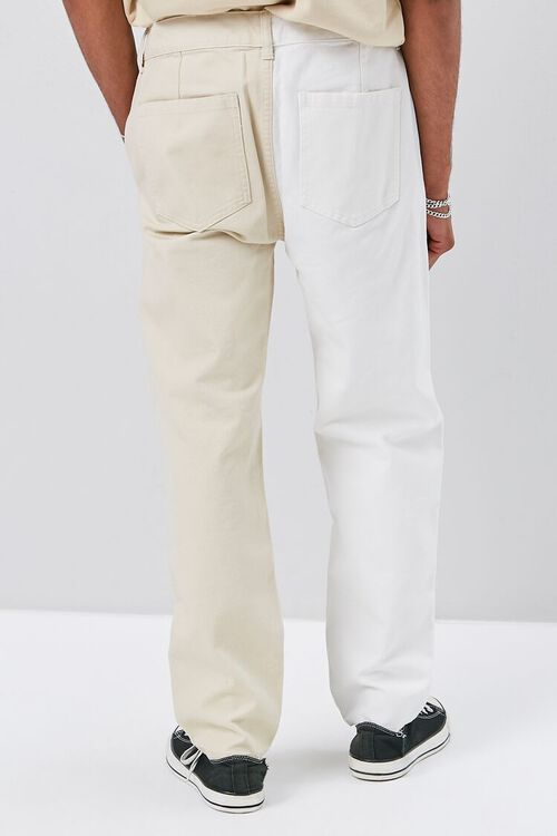 Colorblock Canvas Pants, image 4