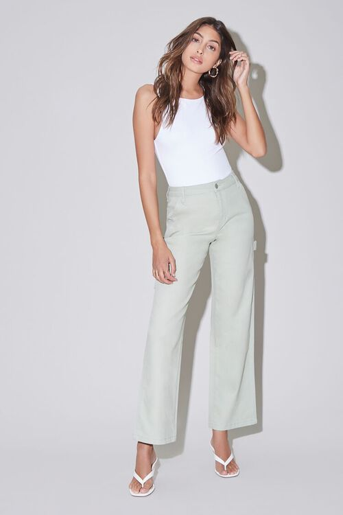 High-Rise Carpenter Jeans, image 5