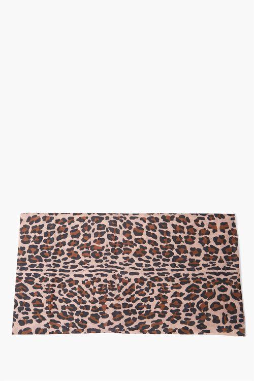 Leopard Print Scarf, image 2