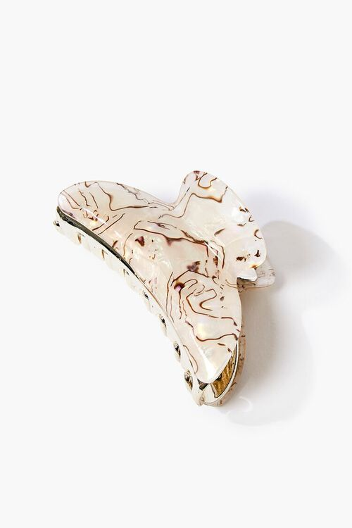 Marble Print Claw Clip, image 1