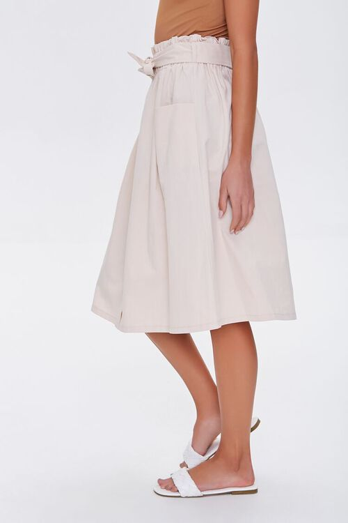 Flowy Button-Down Skirt, image 3